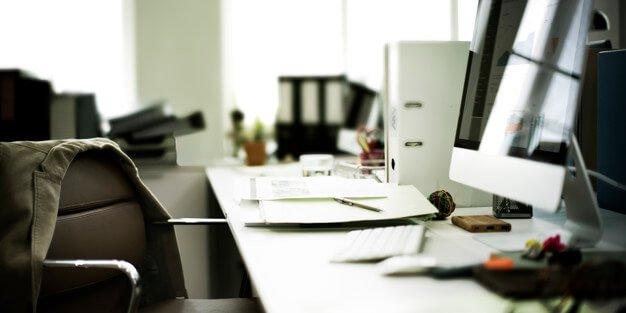 orden y limpieza en la oficina