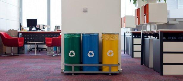 como reciclar en la oficina