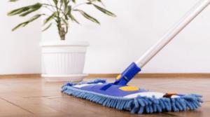 limpiar parquet estropeado